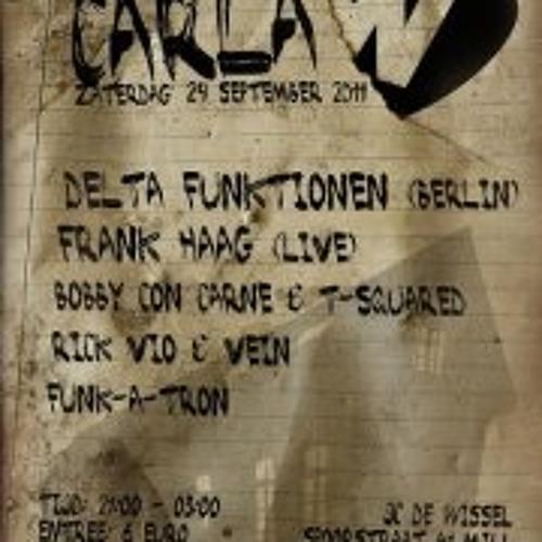 Funk-a-Tron - Live @ Carla (De Wissel Mill) - Warm-up set for Frank Haag