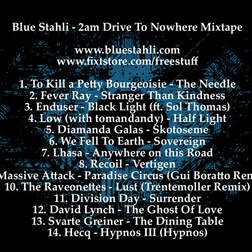 2am Drive To Nowhere mixtape [FREE DOWNLOAD]