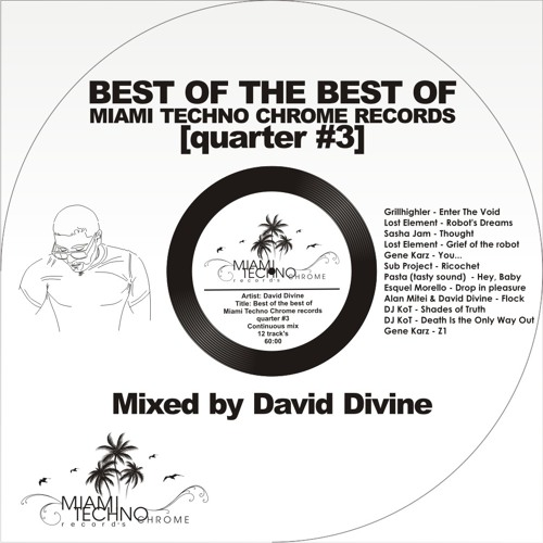 David Divine - Best of the best on Miami Techno Chrome records [quarter #3]
