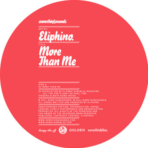 Eliphino - More Than Me 12""