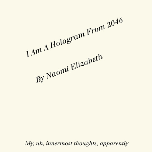 I Am A Hologram From 2046 Audio Book Part 1