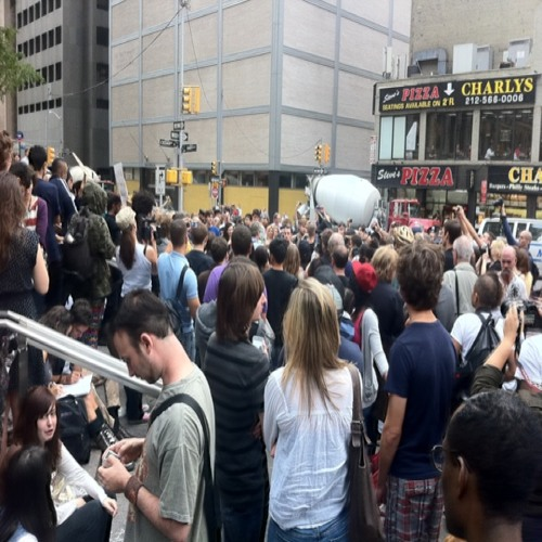 Live from #OccupyWallStreet