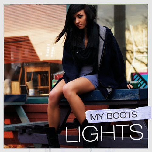 Lights-My Boots (ToastGhost Dubstep Remix)