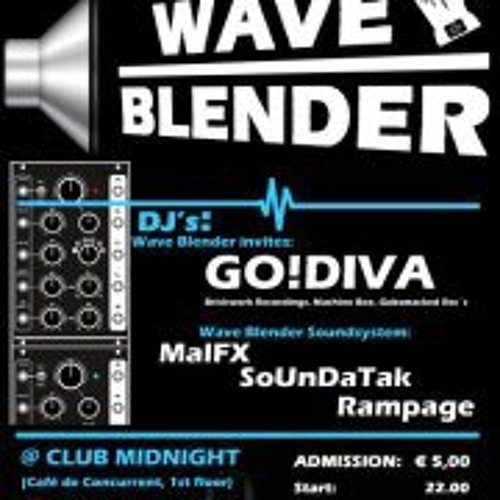 GO!DIVA live at Waveblender invites GO!DIVA 01-10-2011, CLub Midnight