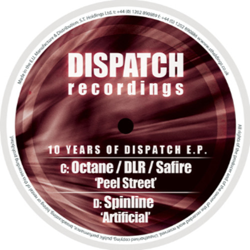 Spinline - Artificial - '10 years of Dispatch EP' (CLIP) - OUT NOW