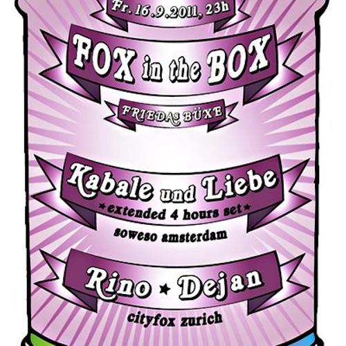 KABALE UND LIEBE @ Fox in the Box - Friedas Büxe 16-09-2011, ZURICH    part 1 of 2