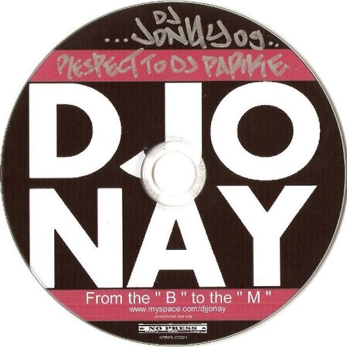 """DJ Jonay Megamix - From the """"B"""" to the """"M"""""""