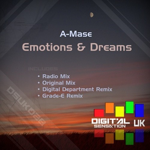 DSUK028 - A-Mase - Emotions & Dreams (Grade-E Remix)