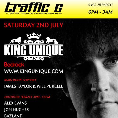 King Unique @ Traffic 02.07.11 (part 1) - FREE DOWNLOAD