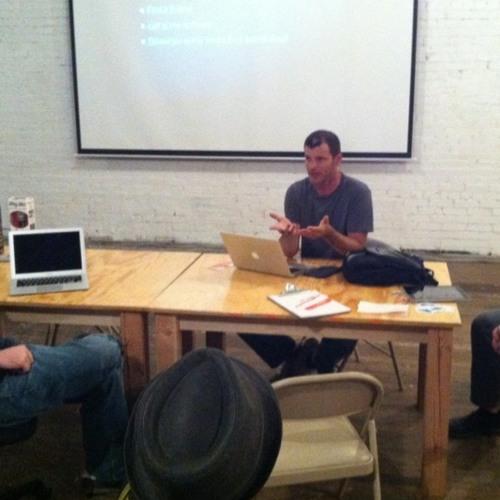Michael on Podcasting at Uncubed Denver
