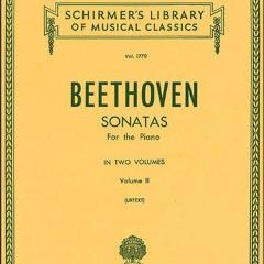 Beethoven - Moonlight Sonata (Glenn playing on a Steinway D)