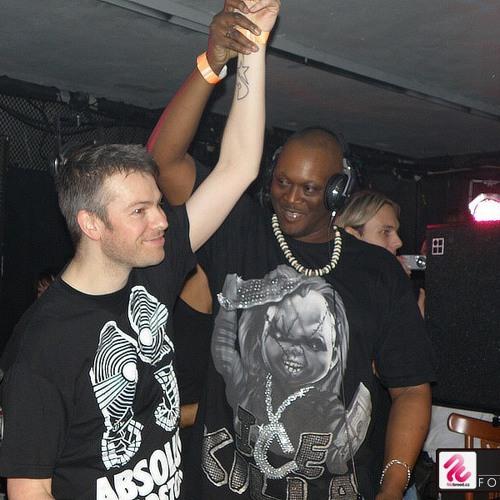 Paul Langley @ DJ Rush birthday party 2009