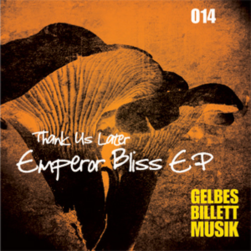 Thank Us Later | Ilos Grazias | Gelbes Billett Musik 014