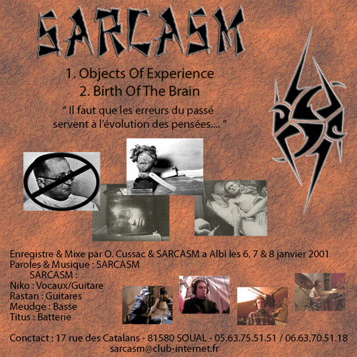 Sarcasm-Objects Of Experience