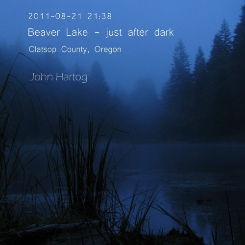 Beaver Lake - just after dark