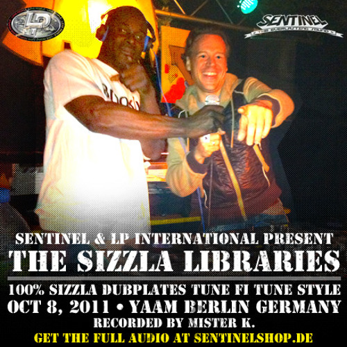 Sentinel & LP International - The Sizzla Dubplate Libraries