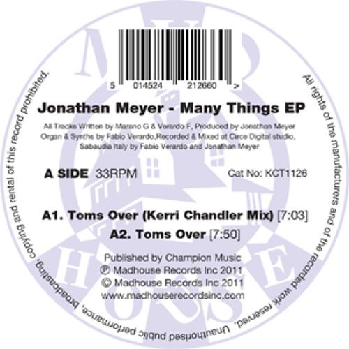 "Johnathan Meyer - Many Things EP (12"" Vinyl)"