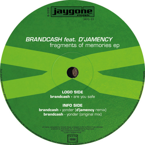 Brandcash feat. D'Jamency - are you safe [JAYG 03]