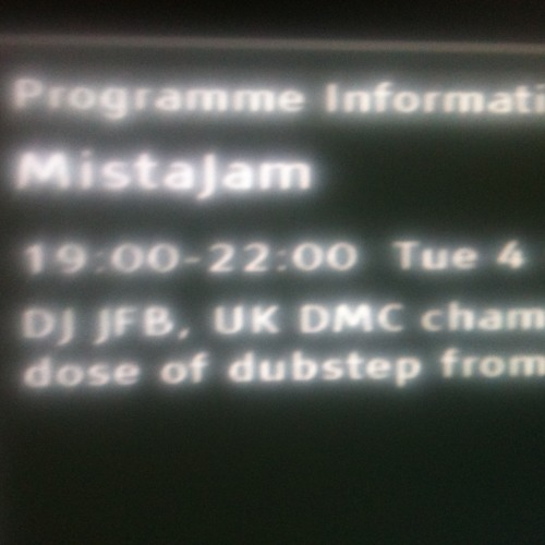 JFB Guest Mix For MistaJam On BBC1Xtra