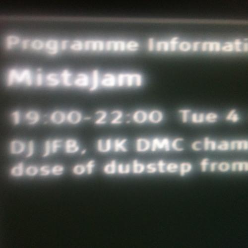 JFB Guest Mix For MistaJam On BBC1Xtra
