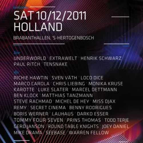Benny Rodrigues & Darko Esser - Time Warp Holland 2011 - Exclusive Mix