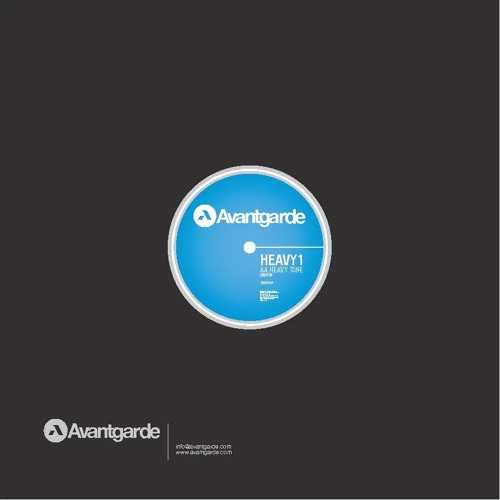 Heavy1 - Heavy Tone_ Avantgarde (12inch & Digital)