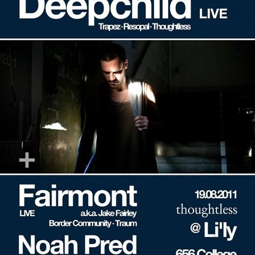 Deepchild LIVE set at Li'ly, Toronto, for Thoughtless Music