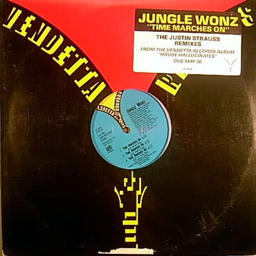 Jungle Wonz - Time Marches On - Justin Strauss Remixes - 1989