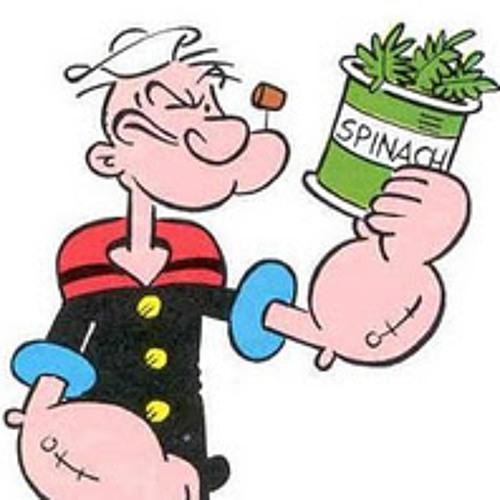 Popeye the solo man