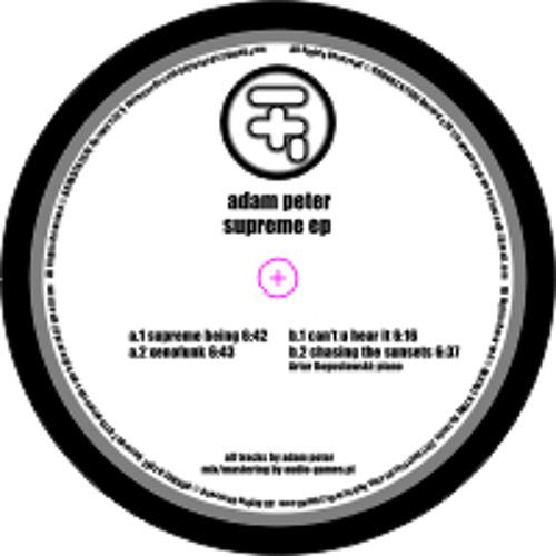 Adam Peter - Supreme being [HnF 001]