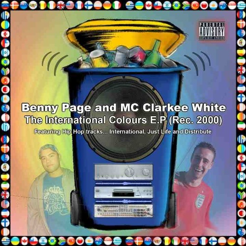 Benny Page and MC Clarkee White - International Colours (2002)