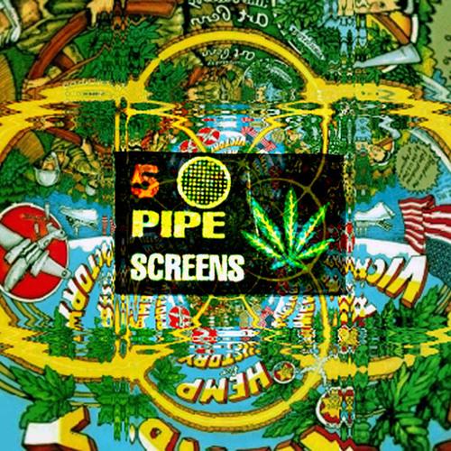 Dubmasta - 5 Pipe Screens