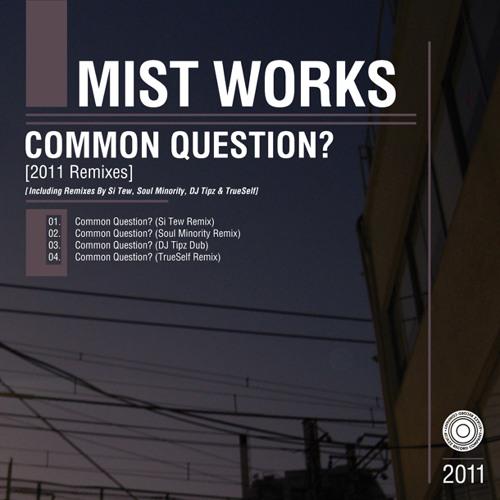 Mist Works - Common Question? (DJ Tipz Dub)