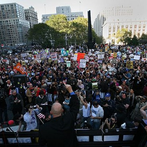 JUST #OCCUPY feat. Chris Hedges (E=F1Sh Mix)