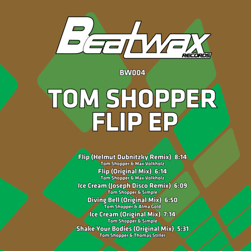 Tom Shopper & Simple - Ice Cream(Snippet) [BW004_DigitalBonus]