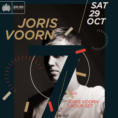 Podcast for Joris Voorn's 7 Hours Set @ Ministry Of Sound, London 29.10.2011