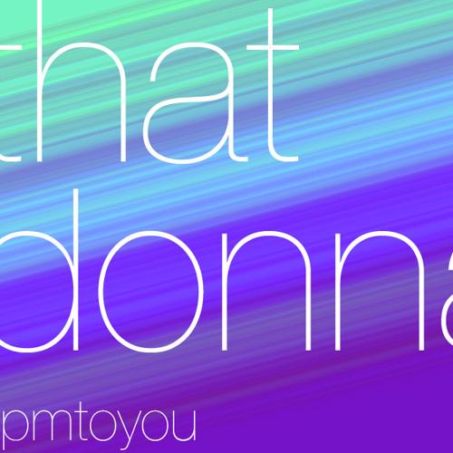 That Donna