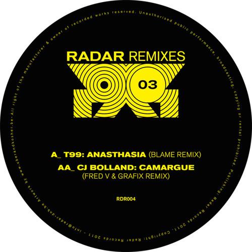 T99: Anasthasia (Blame remix) RDR004A (clip)