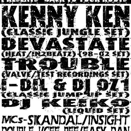 Kenny Ken (Jungle Set) With MC Junior Red @ Strictly Drumz 2007