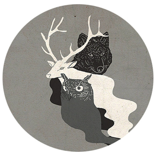 Hello Invaders - wolf, owl and deer.