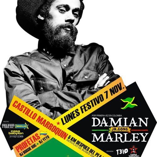 Damian Marley en Colombia  Nov/ 7 /2011!  ( por Colombia: Profetas)