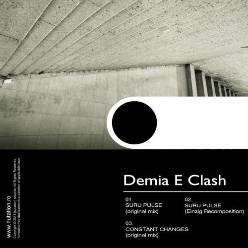 [nuEP12] Demia E Clash - Suru Pulse EP / with rmx from: Einzig