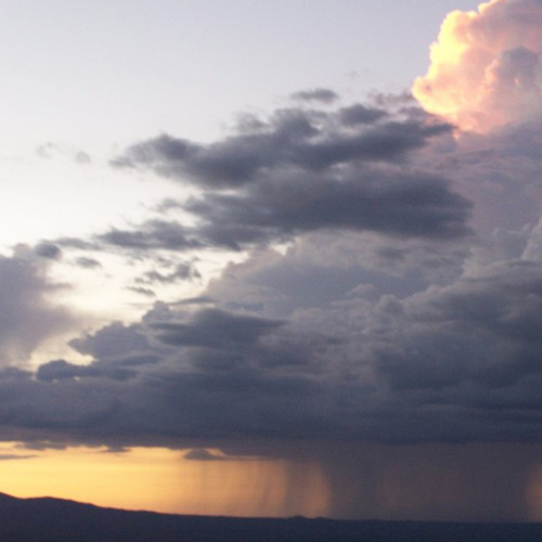 Wolken am Horizont