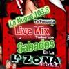 LA ZONA ROSA LIVE MIX DE LA NUEVA 103.5 CON DJ LEE Y EL COYOTE!!