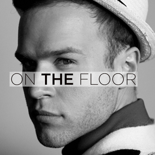 On the floor.