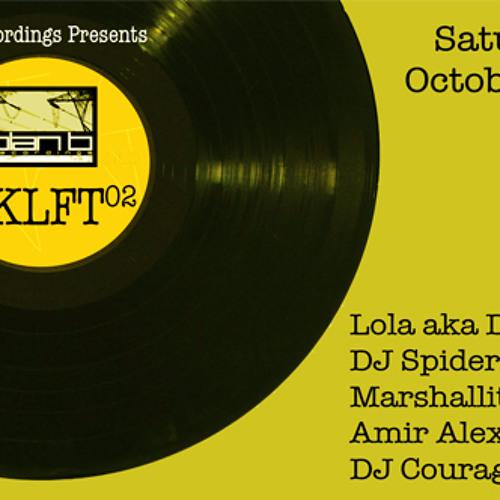 DJ Spider @ BKLFT02 (Vinyl DJ Set) Saturday, Oct. 15th 2011