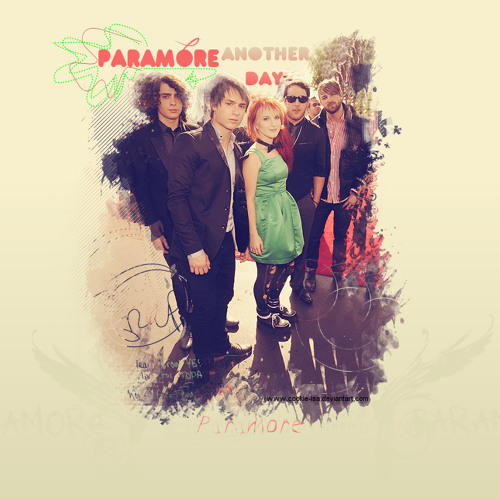 ANOTHER DAY paramore