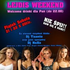 Klub Insomnia Jordanów - 21.10.2011- Lejdis weekend - Dj NeXx & Dj Taanto