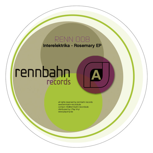 Renn008 Interelektrika - Rosemary (Matthias Meyer & Patlac Diskoutier Remix)
