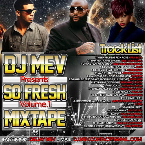 DJ MEV - SO FRESH VOL.1 (MIXTAPE)